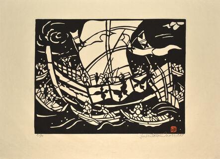 Yoshitoshi Mori, 'Battle at Dan no Ura', 1987