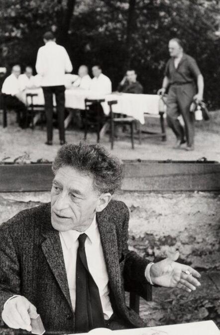 Henri Cartier-Bresson, 'Alberto Giacometti'