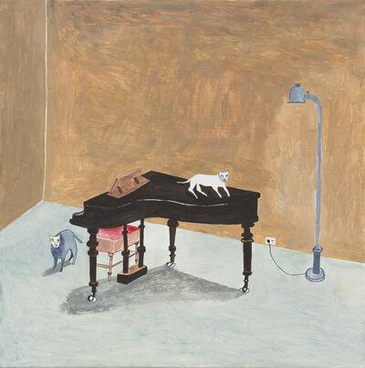 Noel McKenna, 'The Writers Cats Around the Piano', 2016