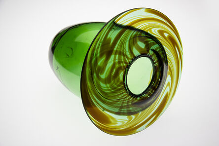 Dale Chihuly, 'Green Vase 74', 1974