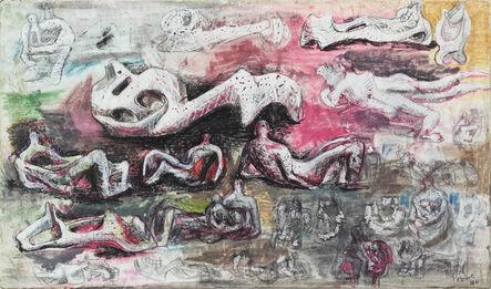 Henry Moore, 'Reclining Figures', 1940