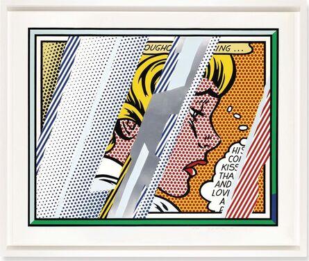 Roy Lichtenstein, 'Reflections Series: Reflections on Girl', 1990