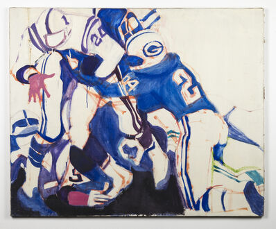Kim Levin, 'Packers and Vikings', 1967