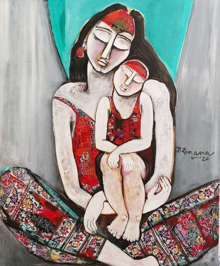 P Gnana, 'Love in Silence - 04', 2020