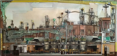 Kathy Kissik, 'Sunset Factory', 2017