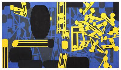 Barry Le Va, 'Sculptured Activity: Standard Dilemma ', 1985