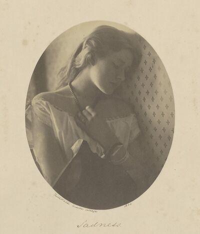 Julia Margaret Cameron, 'Sadness', 1864