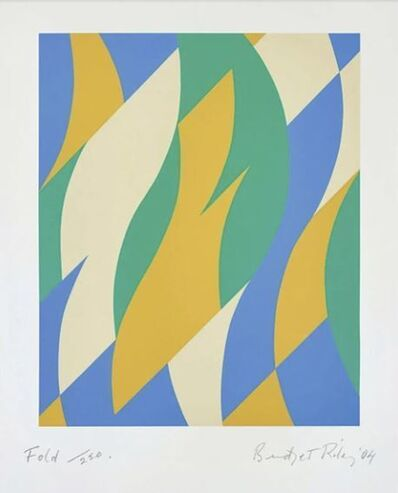 Bridget Riley, 'Fold', 2004