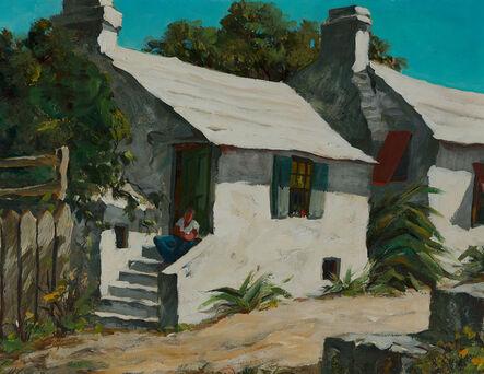Henry Gasser, 'Houses by the Lane, Bermuda', ca. 1949