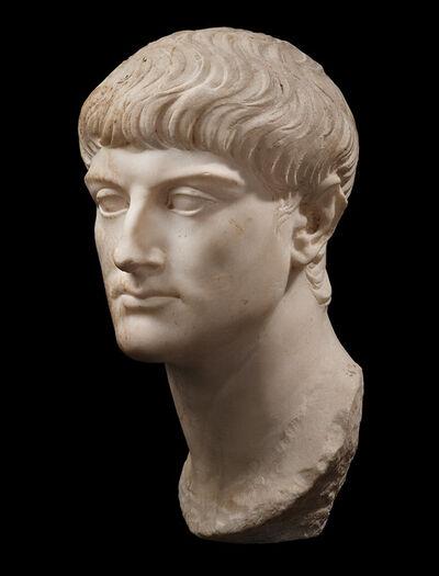 Unknown Roman, 'ANCIENT ROMAN PORTRAIT OF AN ARISTOCRAT ', second half of the 1st century A.D