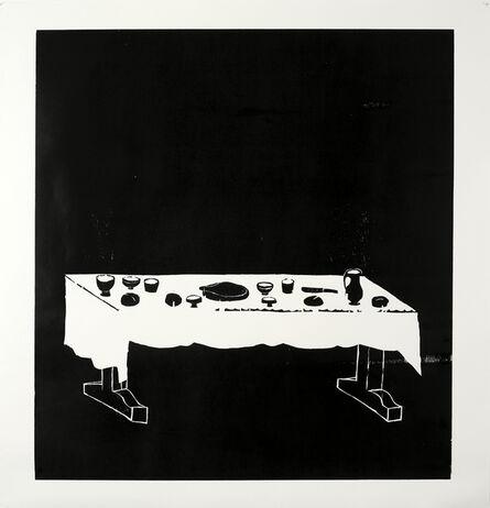 Andrea Büttner, 'Table', 2010
