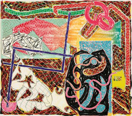 Frank Stella, 'Shards II', 1982