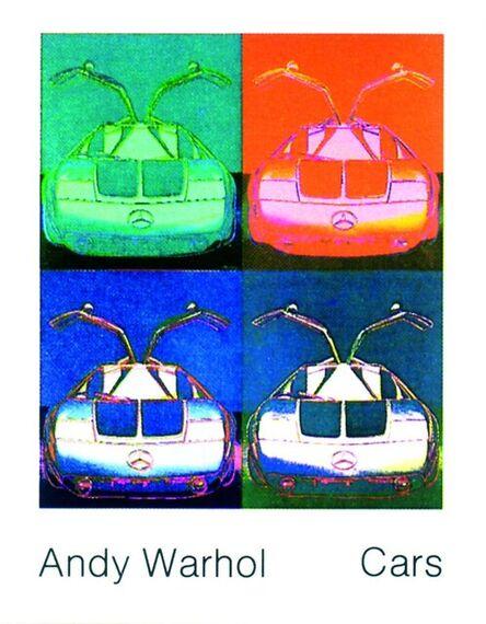 Andy Warhol, 'Mercedes Benz C111 (1970)', 1989