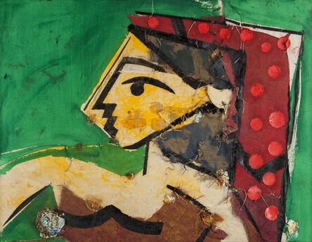 Manolo Valdés, 'Perfil de Mujer Verde', 2006