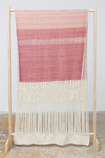 Frances Trombly, 'Textile Drape Over Wood Structure', 2020