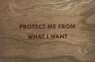 Jenny Holzer, 'Truism (Protect Me From What I Want)', 2018