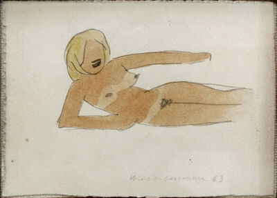 Tom Wesselmann, 'DRAWING FOR G.A.N. #48', 1963 + 1973