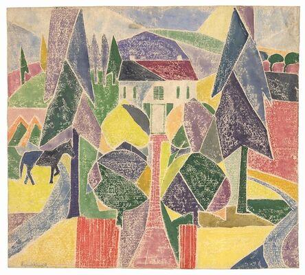 Agnes Weinrich, 'Landscape, Cape Cod.', ca. 1920