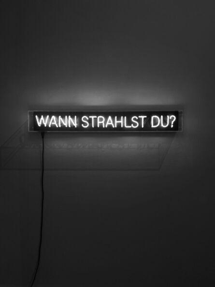 Stefan Strumbel, 'Wann Strahlst Du', 2021