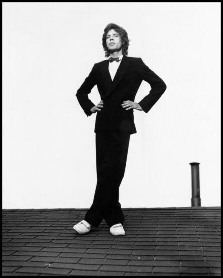 Arthur Elgort, 'Mick Jagger, Long View Farm, Massachusetts', 1981