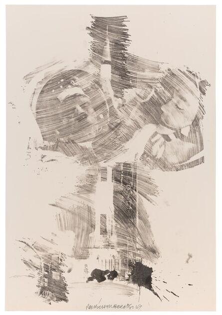 Robert Rauschenberg, 'Moon Rose (Stoned Moon)', 1969