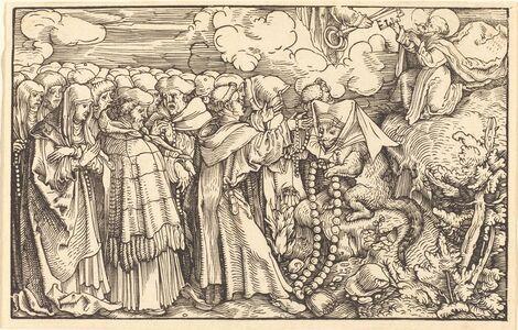 Hans Weiditz, II, 'Allegory - Religious Frivolity'