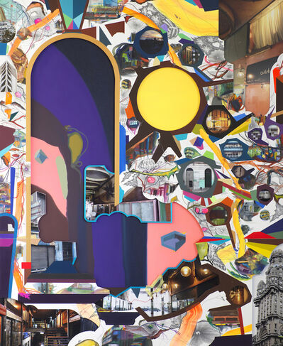 Franz Ackermann, 'GATE / Montevideo', 2016