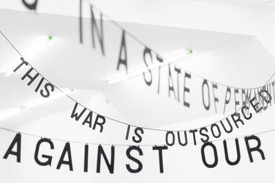 Maya Saravia, 'This is a War', 2017