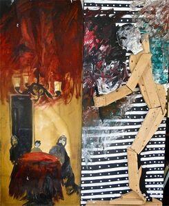 Komar & Melamid, 'Midnight Raging with a Knife', 1985-1986
