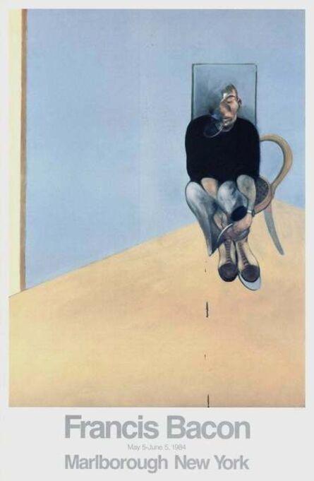 Francis Bacon, 'Seated Man 1984 Original Marlborough Gallery Exhibition Poster', 1984
