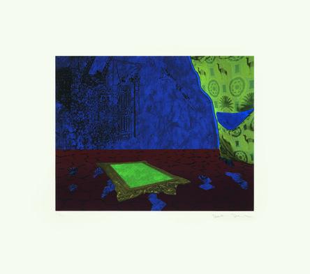 Dexter Dalwood, 'The Apartment (after Delacroix) II', 2012