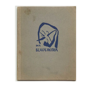"Andy Warhol, '""The Blue Rider (Der Blaue Reiter)"", 1911-12, Exhibition Catalogue, Cover by Kandinsky, Published by Hans Goltz Munich, RARE', 1911-12"