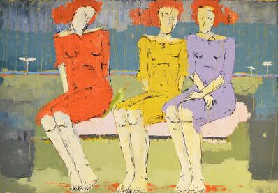 Ammar Alnahhas, 'Women in park', 2010