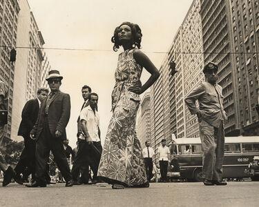 Evandro Teixeira, 'Actress and model Luisa Maranhão posing for a fashion campaign, Rio de Janeiro, Brazil', 1966