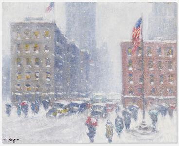 Guy Carleton Wiggins, 'At Madison Square', ca. 1945-50