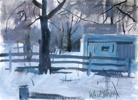 Kevin Weckbach, 'Cold Evening', 2014