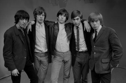 John 'Hoppy' Hopkins, 'The Rolling Stones Group Shot #1, London', 1964
