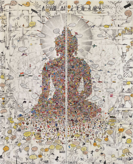 Gonkar Gyatso, 'Dissected Buddha', 2013