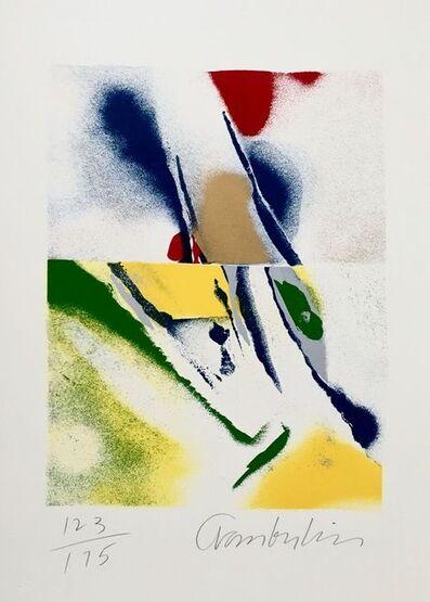 John Chamberlain, 'Flashback IV', 1981
