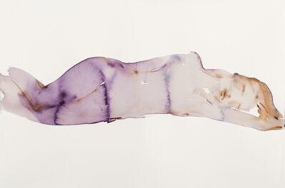 Kim McCarty, 'Purple Reclining - Small', 2017