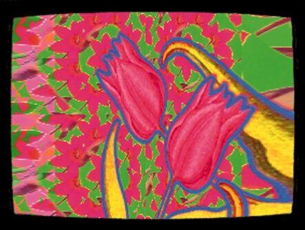 Nam June Paik, 'TV Tulips', 2000