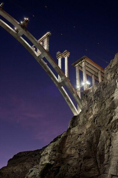 Jamey Stillings, 'Nevada Pier Construction, November 24', 2009
