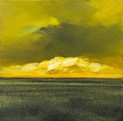 James Lahey, 'Storm Study  Autumn Landscape', 2003