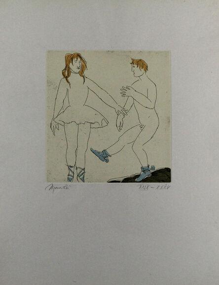 Giacomo Manzù, 'Passo di danza II', 1974