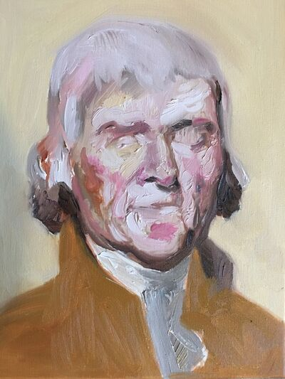Walter John Rodriguez, 'Jefferson', 2018