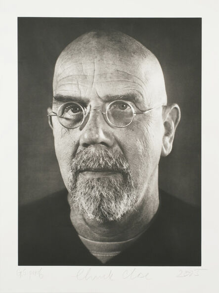Chuck Close, 'Self-Portrait/Photogravure', 2005