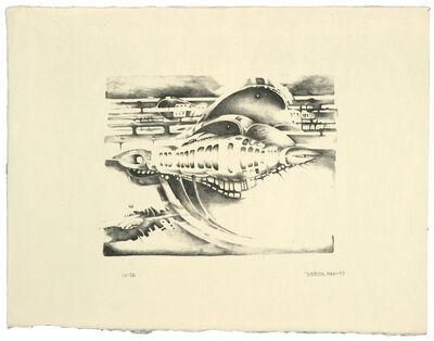 Lee Bontecou, 'Thirteenth Stone', 1970