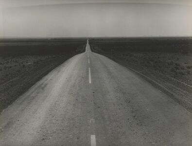 Dorothea Lange, 'The Road West, U.S. 54 in Southern New Mexico', 1938