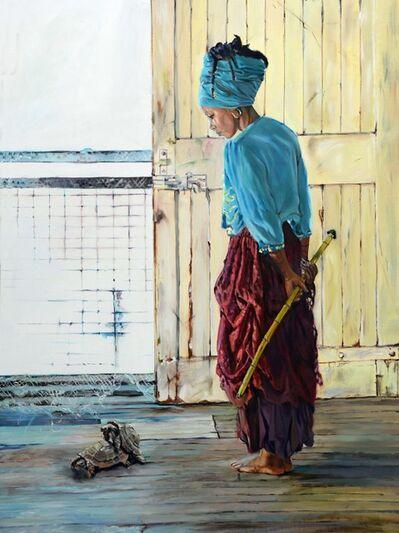 Mertim Gokalp, 'The tortoise trainer', 2014