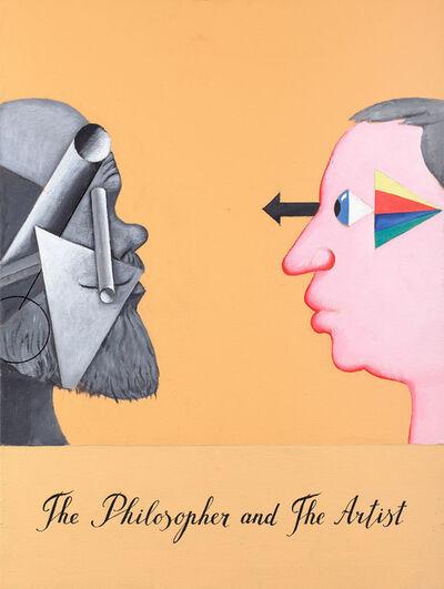 Viktor Pivovarov, 'The Philosopher and the Artist', 2011
